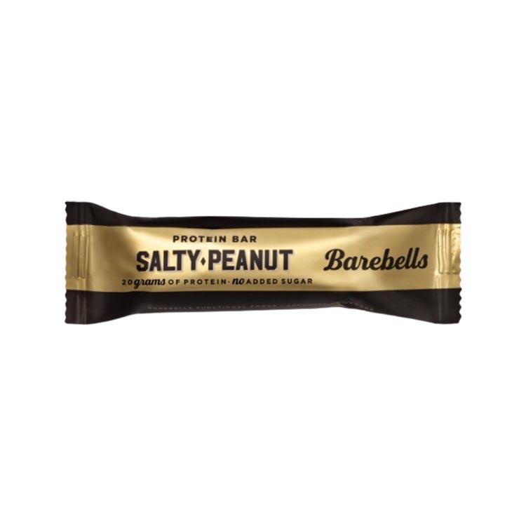 BAREBELLS PROTEIN BAR SALTY PEANUT vegfit
