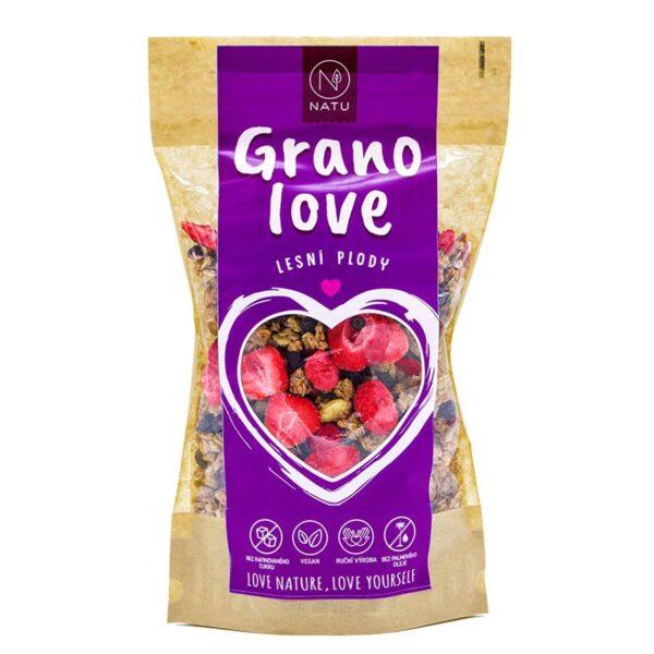 granola natu maliny vegfit