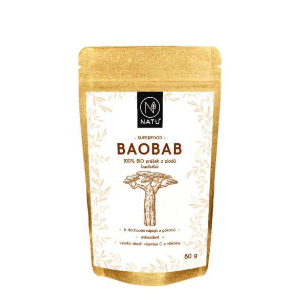 Baobab BIO prasek 80g vegfit