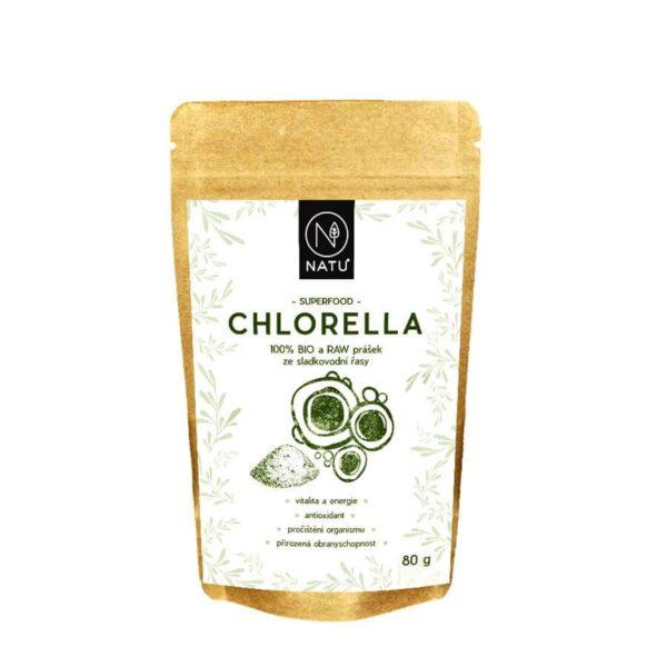 Chlorella BIO prasek vegfit