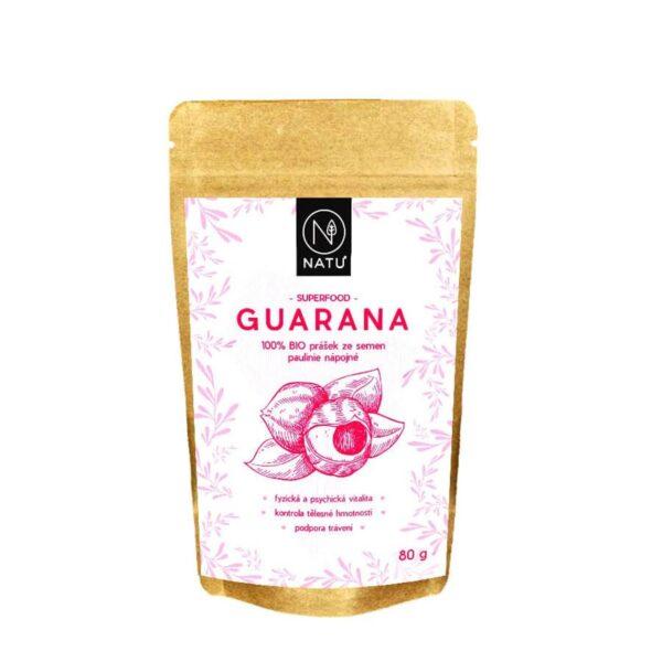 Guarana BIO prasek 80g vegfit