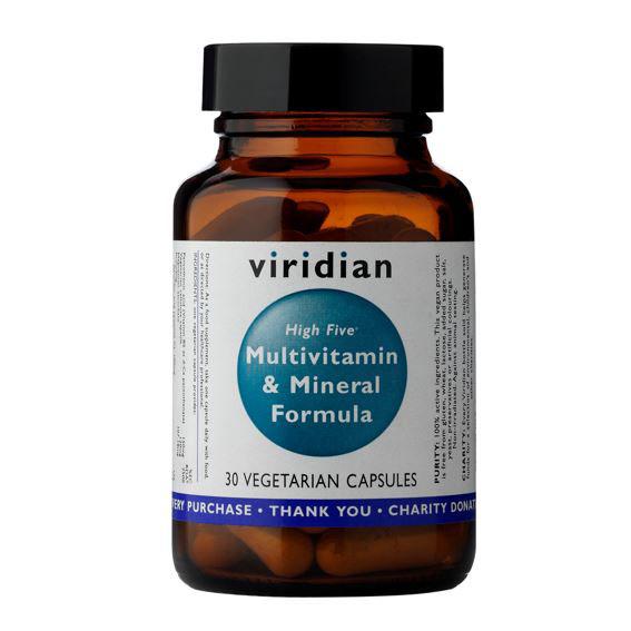 High Five Multivitamin Mineral Formula 30kapsli vegfit