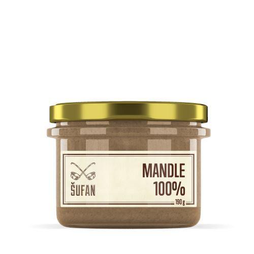 Mandle 100 prazene melnene 190g vegfit