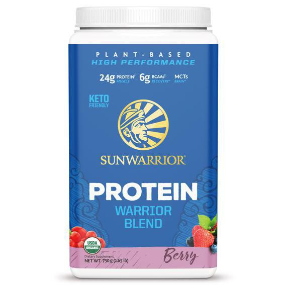 SUNWAR Protein Blend BIO 750g berry vegfit