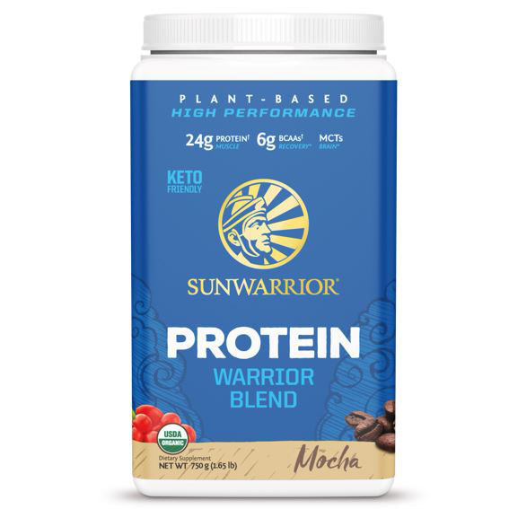 SUNWAR Protein Blend BIO 750g moka vegfit