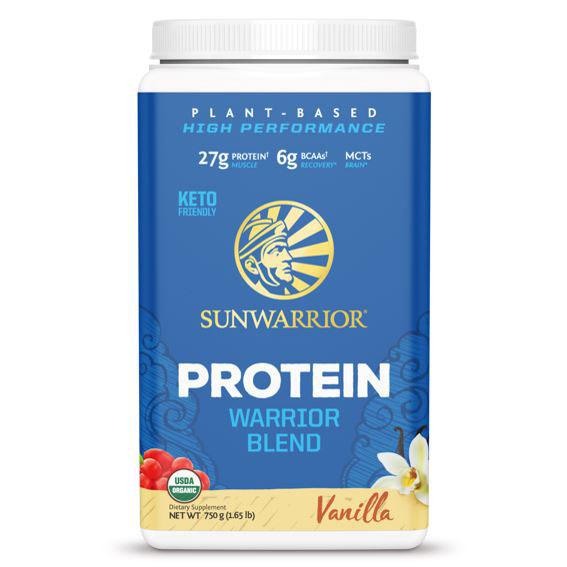 SUNWAR Protein Blend BIO 750g vanilka vegfit