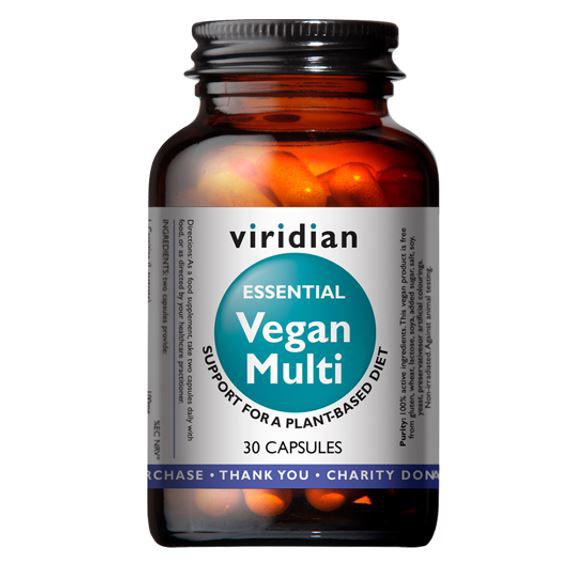 Vegan Multi 30 kapsli Multivitamin pro vegany vegfit