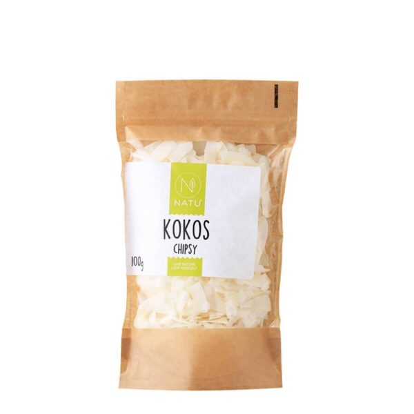 kokos chipsy 100g vegfit