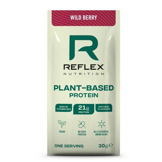 plant based protein 30g wild berry vegfit