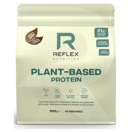 plant based protein 600g cacao caramel vegfit