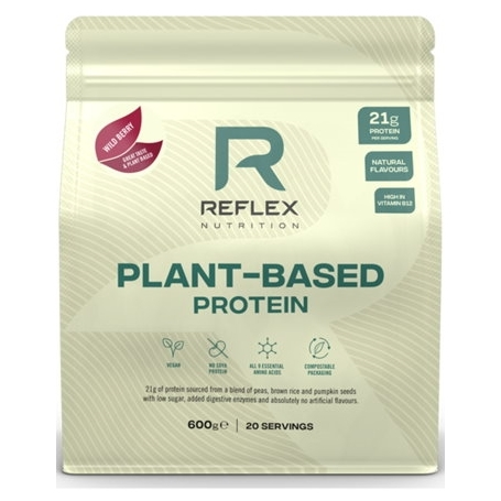 plant based protein 600g wild berry vegfit