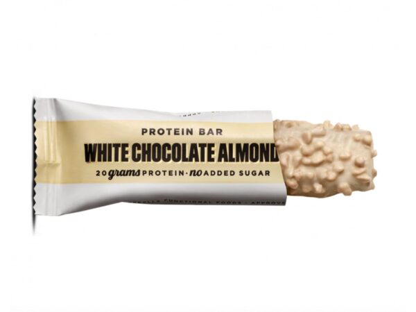 Barebells Protein Bar bila cokolada mandle vegfit