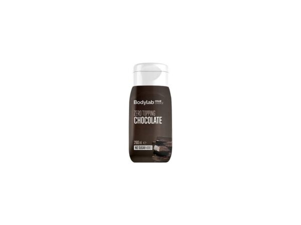 bodylab topping zero cokolada 290 ml vegfit
