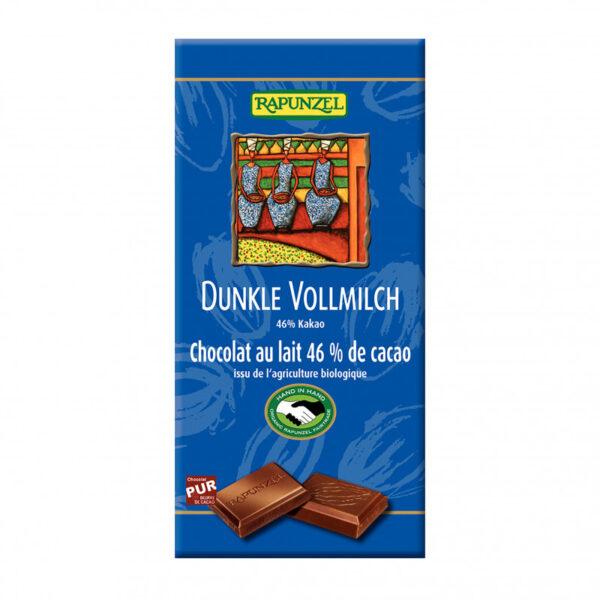 cokolada horko mlecna rapunzel bio 100 g vegfit