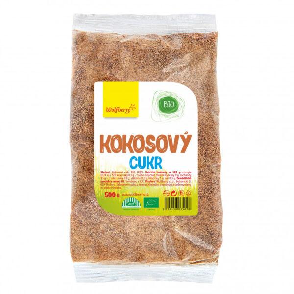 kokosovy cukr bio 500g wolfberry vegfit