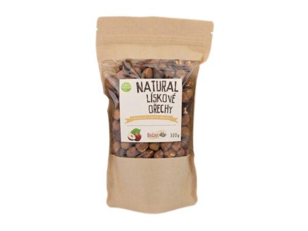 natural liskove orechy 300g vegfit