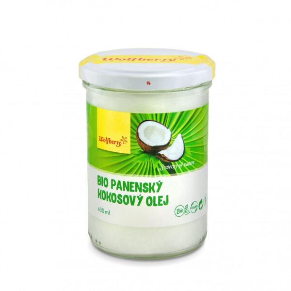 panensky kokosovy olej wolfberry bio 400 ml vegfit