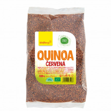 quinoa cervena wolfberry bio 500 g vegfit