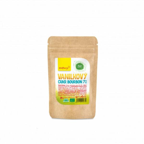 vanilkovy cukr bourbon 7 20 g bio wolfberry vegfit