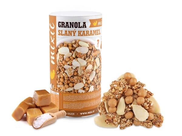 Mixit granola slaný karamel 550 g