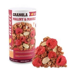 Mixit granola z pece maliny a mandle 440 g vegfit